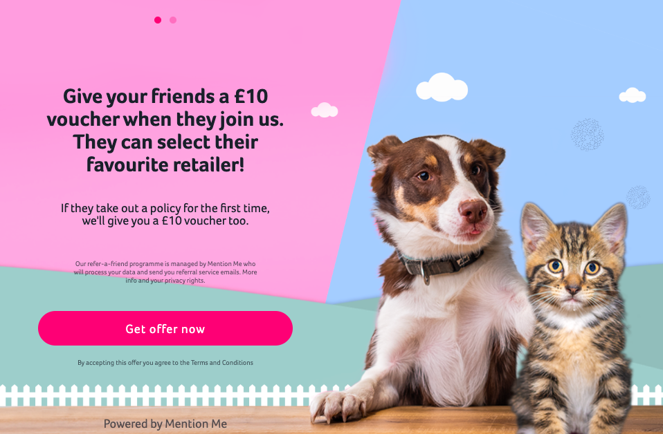 Animal Friends referral programme
