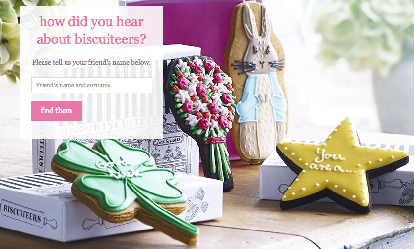 Biscuiteers Referral Offer