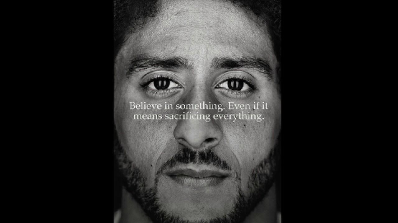 Colin Kapernick Nike campaign