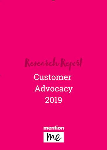 Customer Advocacy Research