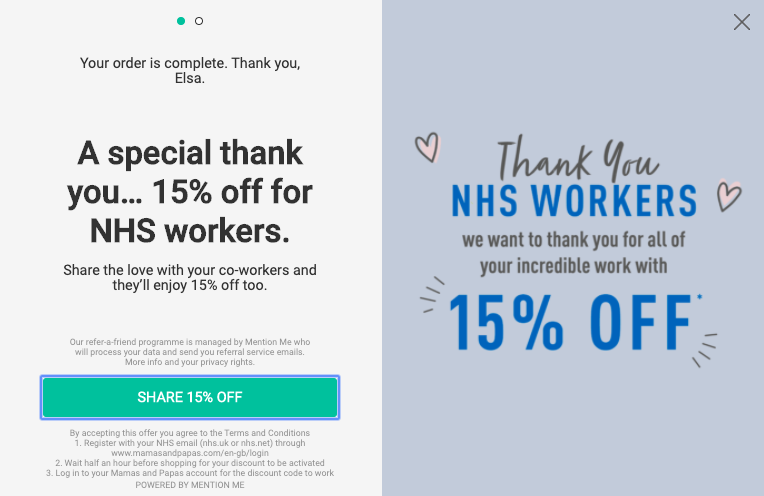 Mamas and Papas - NHS workers campaign
