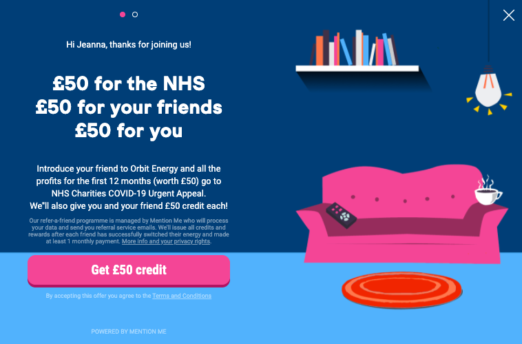 Orbit energy - NHS campaign (launch)