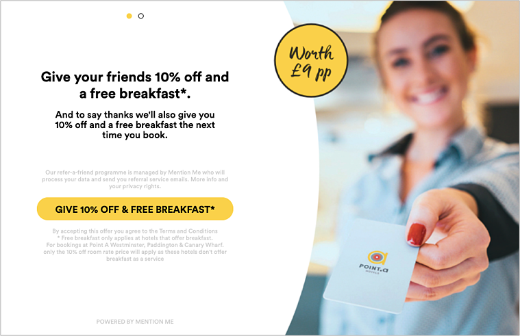 Point A Hotels referral programme-1