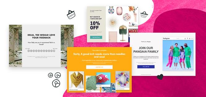 Refer+ brand screenshots
