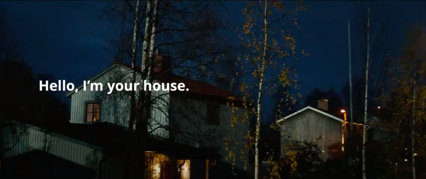 Ikea stay home marketing campaign
