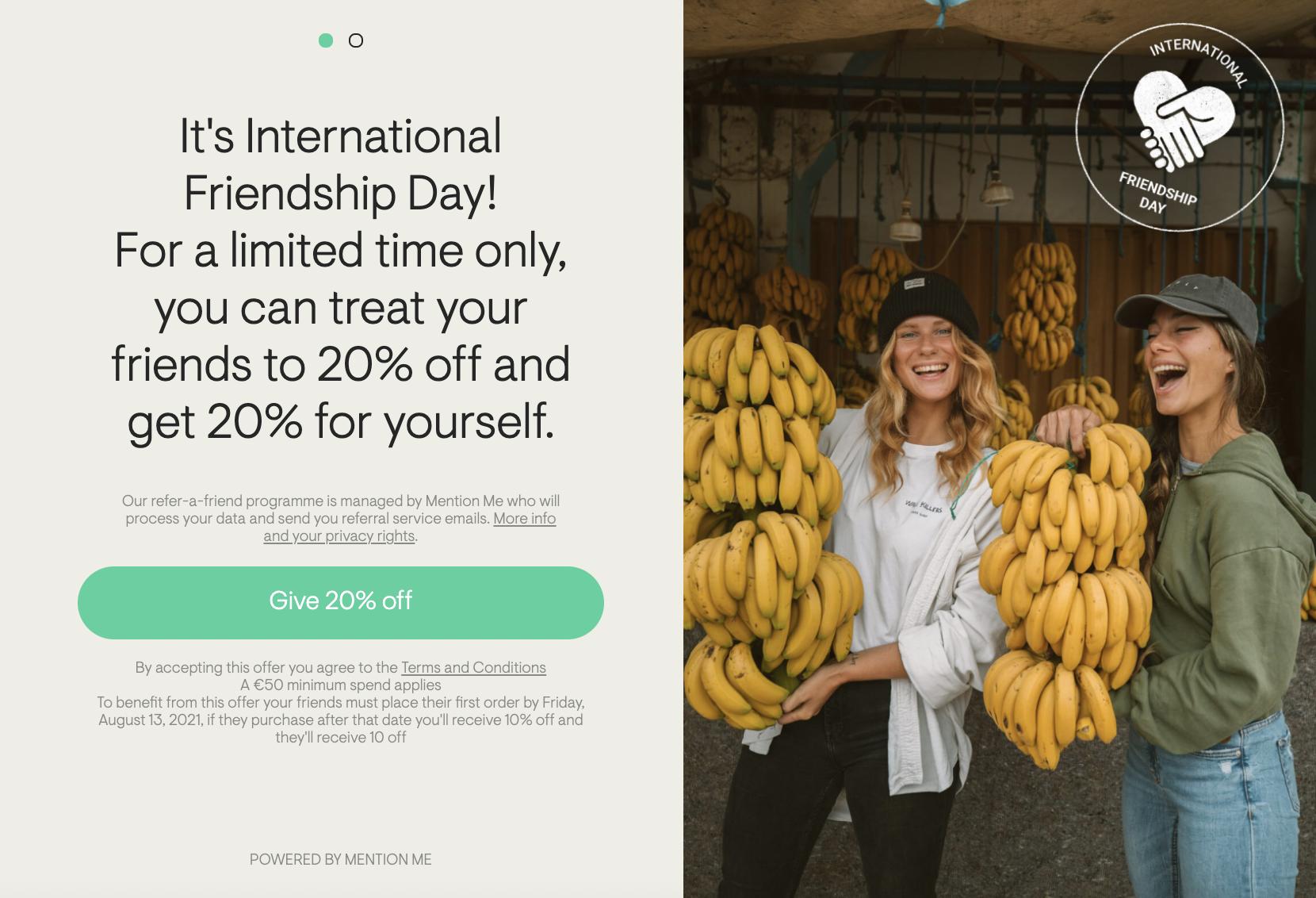 Tropicfeel IFD promotion