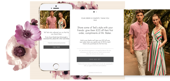 Ted Baker referral programme
