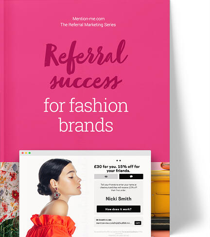 Referral marketing for fashion & apparel brands