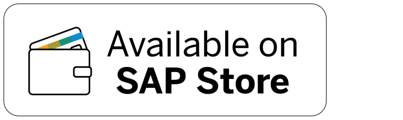SAP - store badge